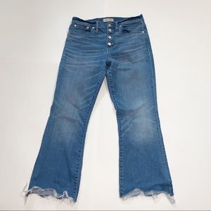 Madewell Cali-Demi Boot Jeans